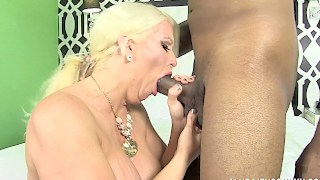 BBC for Buxom Blonde Sex-Goddess, Alura Jenson