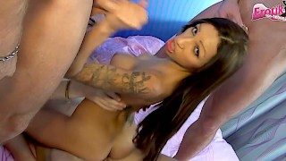 Gangbang FIESTA with German Latina Babe