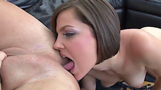 Bobbi Starr giving master class in eating ass